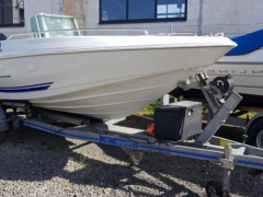 QUICKSILVER COMMANDER 500 MIT 75 PS VIER Center console boat