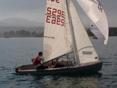 Ziegelmayer 420er Sailing dinghy