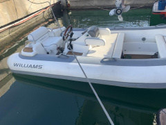 Williams 385 turbojet Bote de servicio