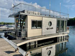 Neuwertiges Hausboot als Ferienapartment Hausboot