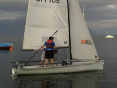 Topper Intern. Boss Sailing dinghy