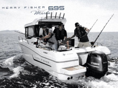 Jeanneau Merry Fisher 695 MF Marlin Barca da Pesca