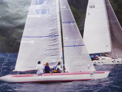 5.5 IC-Yacht SUI 167 Keelboat