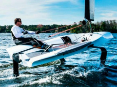 The Foiling Dinghy Sailing Dinghy