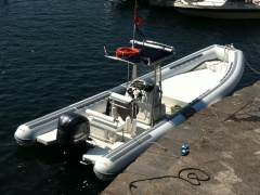 Bat 850 DIVING Rubberboot met vaste romp