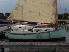 Colombo Leopoldo Difference 21 catboat trailerable Klassieker