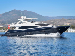 Sunseeker 88 Yacht Flybridge