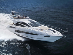 Sunseeker 68 Sport Yacht Flybridge