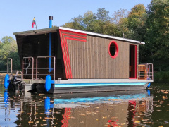 Nordic Houseboat Eco Wood 18m2 Woonboot