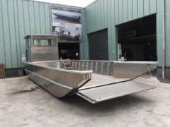 Aluminiumjon from 4 meter till  12 meter Working Boat