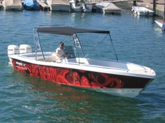 Ocean Master (US) 27' Runabout Sportboot