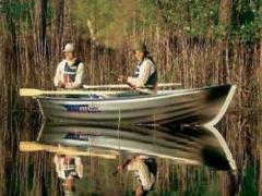 Linder 410 Fishing o. Motor Ruderboot
