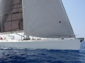 Composite works 90' sloop Yacht a Vela
