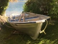 Linder 410 Fishing barco a remo