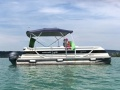 Harris FloteBote HARRIS KAYOT CROWN 24 Pontoon Boat
