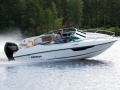 Flipper 640 Dacruiser mit 100 PS Aussenborder Day Cruiser