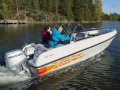 Terhi 475 TWIN C, HONDA 50 & Trailer Fischerboot