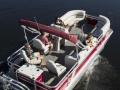 Smoker Craft SunChaser Geneva 22 Fish DLX Ponton-Boot