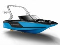 MasterCraft 2018 NXT20 Black Jet Stream Blue Wakeboard/ Sci d'Acqua