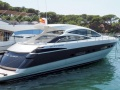 Pershing 56 mit Arneson Surface Drive Hard Top Yacht