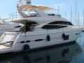 Princess 72 Fly Flybridge Yacht