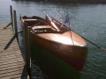 Pedrazzini Holzboot Deck Boat