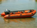 Quicksilver 430 Rubber Boat