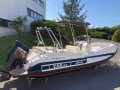 ZAR Formenti 57 well deck Schlauchboot