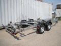 Brenderup Premium S-24250-TB Bootstrailer 2500 Kg Twin Axle
