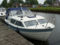 Nidelv 24 Classic Polyester Spitsgatter Cabin Boat