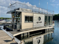 Neuwertiges Hausboot als Ferienapartment House Boat