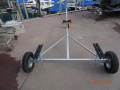 Harbeck Slipwagen 400 Carrello invaso